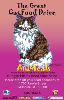 great cat food drive copy