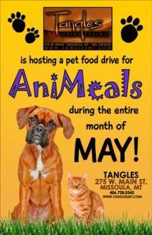 Tangles Food Drive 4.11.13small